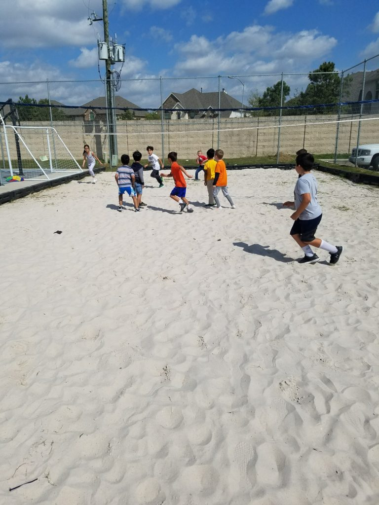 Sharks and Minnows in the Sand!!!