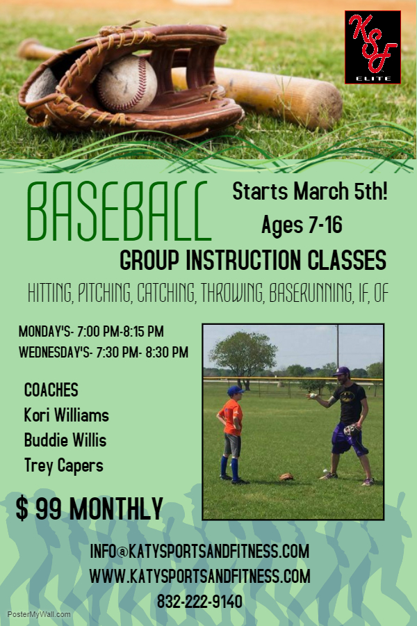 Baseball Group Instruction Classes